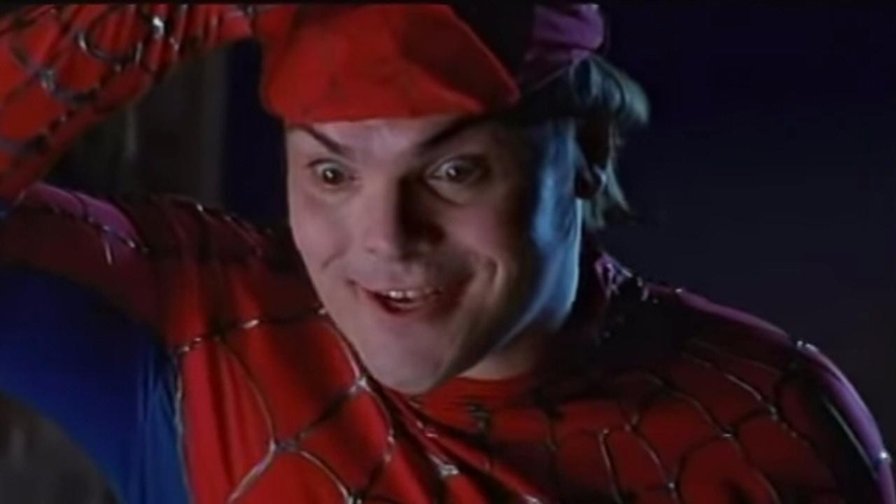 Jack Black: Spider-Man