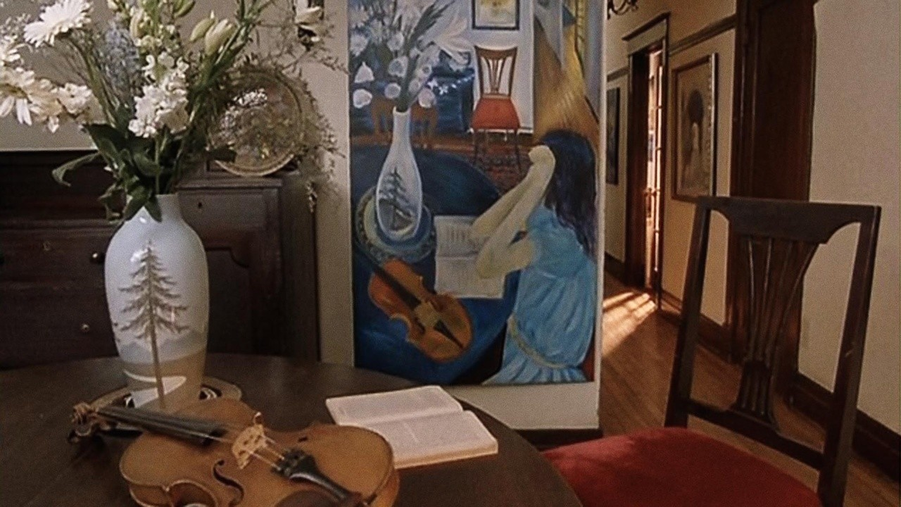 The Violin on the Canvas