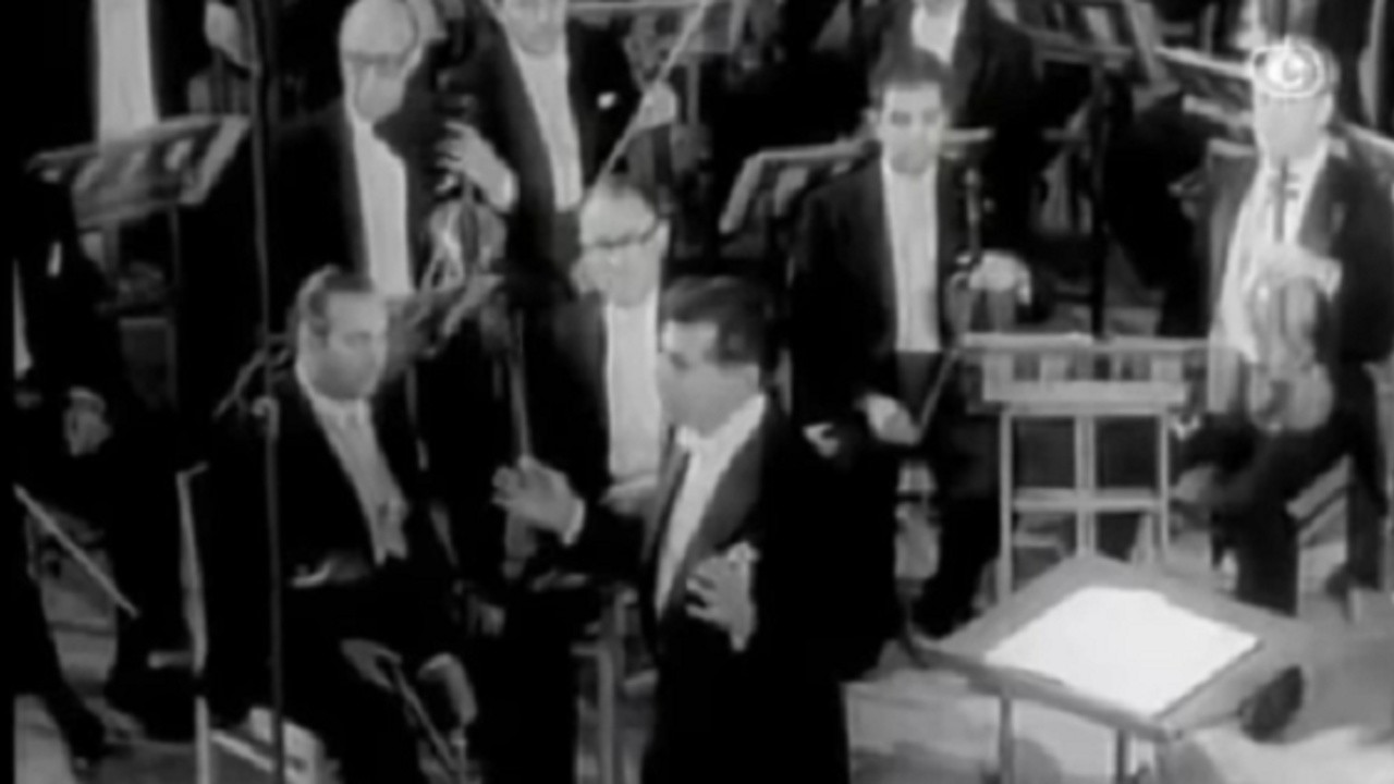 Leonard Bernstein and the New York Philharmonic in Moscow