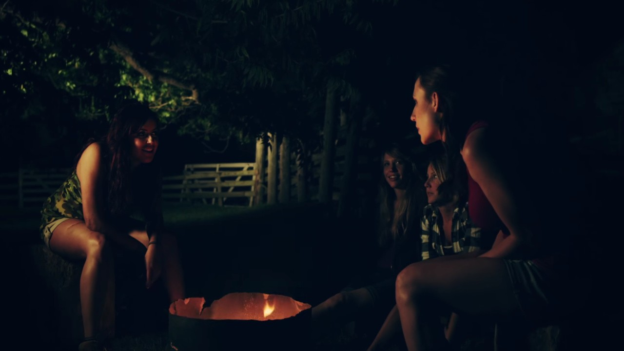 Scream Queen Campfire: Marshmallows and Blood