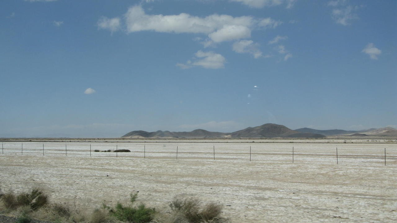 Leaving Barstow